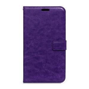 Peňaženkové puzdro na Huawei Mate 8 - fialové - 1