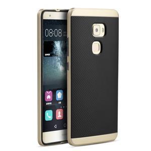 Odolný hybridní obal 2v1 na Huawei Mate S - zlat - 1