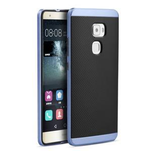 Odolný hybridní obal 2v1 na Huawei Mate S - modrý - 1