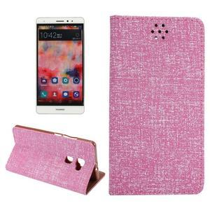 Style knížkové pouzdro na mobil Huawei Mate S - rose - 1
