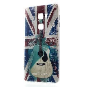 Softy gelový obal na mobil Huawei Mate S - UK vlajka - 1