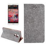 Style knížkové pouzdro na mobil Huawei Mate S - šedé - 1/7
