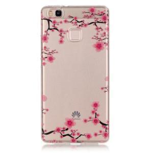 Průhledný gelový obal na mobil Huawei P9 Lite - květoucí strom - 1