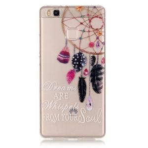 Průhledný gelový obal na mobil Huawei P9 Lite - snění - 1