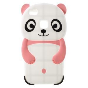 PandaStyle silikonový obal na Huawei P9 Lite - růžový - 1