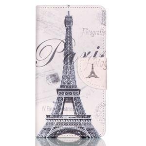 Patter PU kožené pouzdro na mobil Huawei P9 Lite - Paris - 1