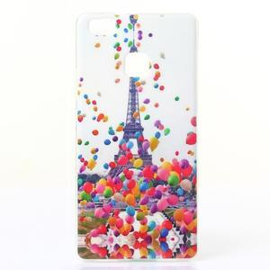 Jelly gelový obal na telefon Huawei P9 Lite - Eiffelovka - 1
