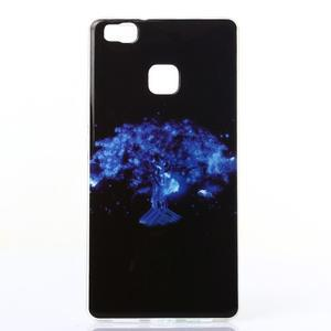 Jelly gelový obal na telefon Huawei P9 Lite - mýtický strom - 1