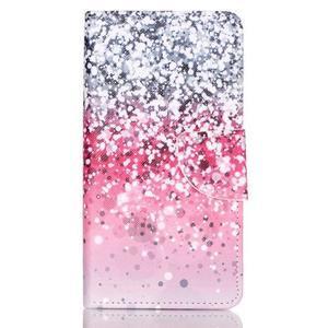 Patter PU kožené pouzdro na mobil Huawei P9 Lite - gradient - 1