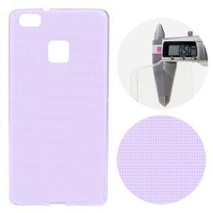 Super slim 0.5 mm gelový obal na Huawei P9 Lite - fialový - 1