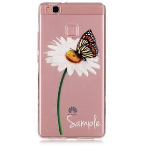 Transparentní obal na telefon Huawei P9 Lite - sedmikráska - 1