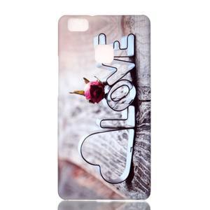 Shelly gelový obal na mobil Huawei P9 Lite - love - 1