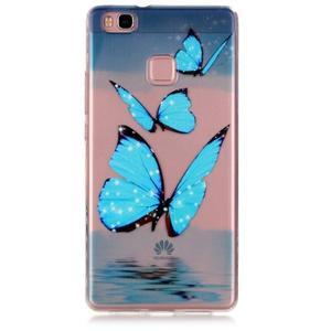 Transparentní obal na telefon Huawei P9 Lite - motýlci - 1