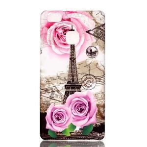 Shelly gelový obal na mobil Huawei P9 Lite - Eiffelova věž - 1