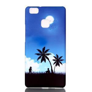 Shelly gelový obal na mobil Huawei P9 Lite - palmy - 1