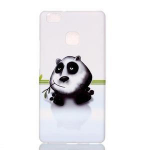 Shelly gelový obal na mobil Huawei P9 Lite - panda - 1