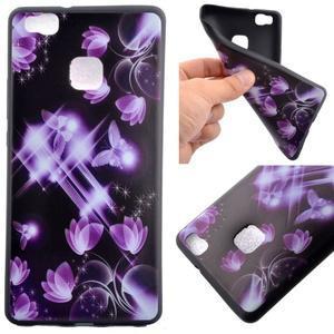 Gelový obal na telefon Huawei P9 Lite - kouzelní motýlci - 1
