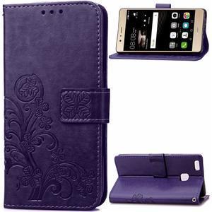 Cloverleaf peněženkové pouzdro na Huawei P9 Lite - fialové - 1