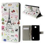 Peňaženkové puzdro Huawei Y635 - Eiffelova veža - 1/7