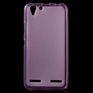 Matný gélový obal pre mobil Lenovo Vibe K5 / K5 Plus - ružový - 1