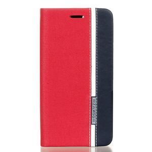 Klopové puzdro pre Lenovo Vibe K5 / K5 Plus - červené - 1