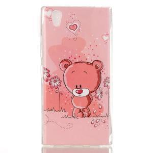 Softy gélový obal pre mobil Lenovo P70 - medvedík - 1