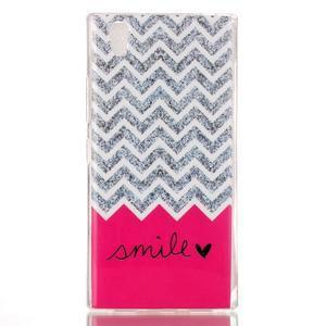 Softy gélový obal pre mobil Lenovo P70 - smile - 1