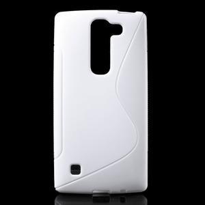 S-line gélový obal pre LG Spirit 4G LTE - biely - 1