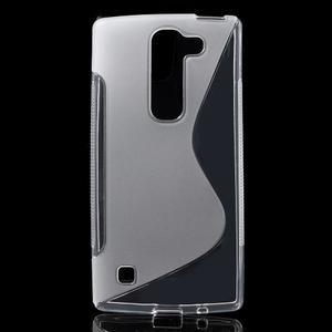 S-line gélový obal na LG Spirit 4G LTE - transparentný - 1