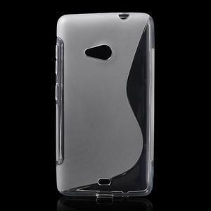 Gélový obal pre Microsoft Lumia 535 - transparentný - 1