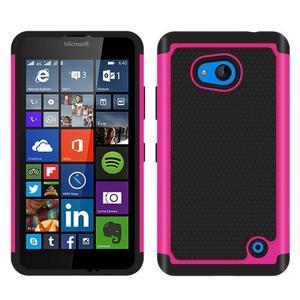 Odolný hybridní kryt pre mobil Microsoft Lumia 640 - rose - 1