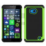 Odolný hybrdiní kryt na mobil Microsoft Lumia 640 - zelený - 1/4