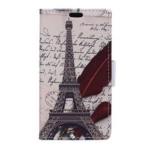 Peňaženkové puzdro na mobil Microsfot Lumia 550 - Eiffelka - 1