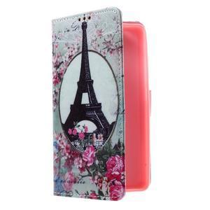 Cross peňaženkové puzdro na Huawei Honor 7 - Eiffelova veža - 1