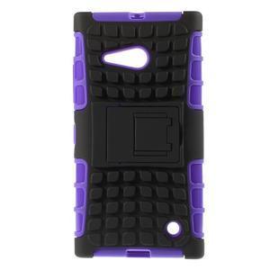 Outdoor odolný kryt pre Nokia Lumia 730/735 - fialový - 1