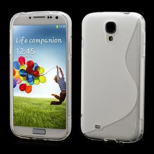 S-line gélový obal pre Samsung Galaxy S4 - transparentný - 1