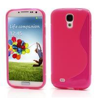 S-line gélový obal na Samsung Galaxy S4 - rose - 1/6