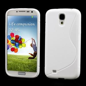 S-line gélový obal pre Samsung Galaxy S4 - biely - 1