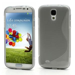 S-line gélový obal na Samsung Galaxy S4 - šedý - 1