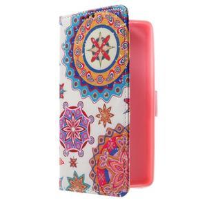 Cross peňaženkové puzdro pre Huawei Honor 7 - mandala - 1