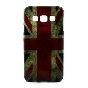 Gélový kryt pre Samsung Galaxy A3    - vlajka UK - 1