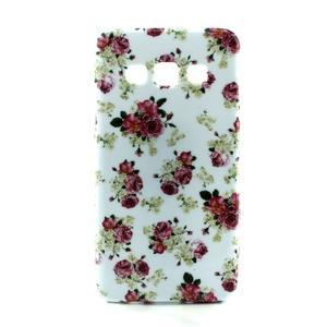 Gélový kryt na Samsung Galaxy A3 - květiny - 1