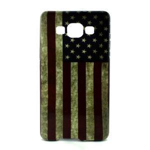 Gélový kryt Samsung Galaxy A5 - vlajka USA - 1