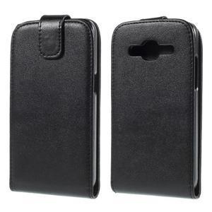 Flipové puzdro Samsung Galaxy Core Prime - čierne - 1