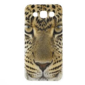 Gélový obal na mobil Samsung Galaxy E5 - leopard - 1