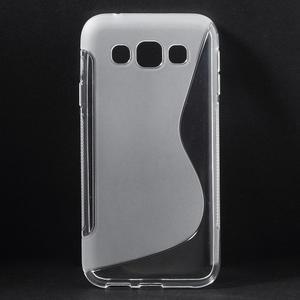 Transparentní gélový obal Samsung Galaxy E5 - 1