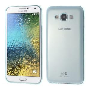 Ulta tenký obal pre Samsung Galaxy E7 - svetlo modrý - 1