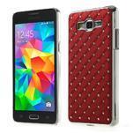Červený drahokamový kryt pre Samsung Grand Prime - 1/6