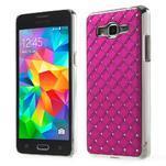 Rose drahokamový kryt na Samsung Grand Prime - 1/6