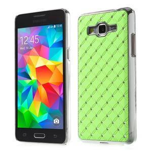Zelený drahokamový kryt pre Samsung Grand Prime - 1